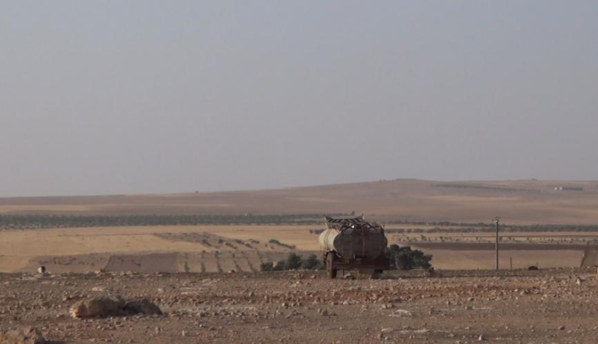 Caminhão-tanque na província síria de Hama, Síria, 10 de agosto de 2016
