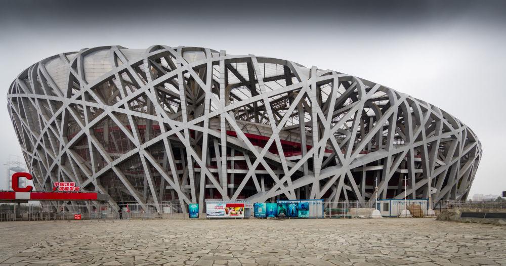 Estádio nacional de Pequim, o 'Ninho'