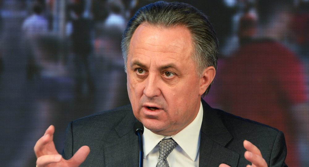 Ministro dos Esportes da Rússia, Vitaly Mutko