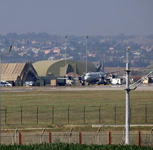 Base aérea turca de Incirlik usada pela coalização internacional liderada pelos EUA