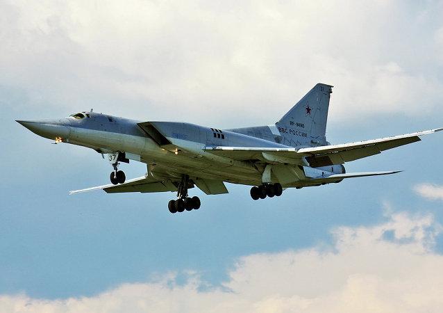Bombardeiro russo de longo alcance Tu-22M3 (foto de arquivo)