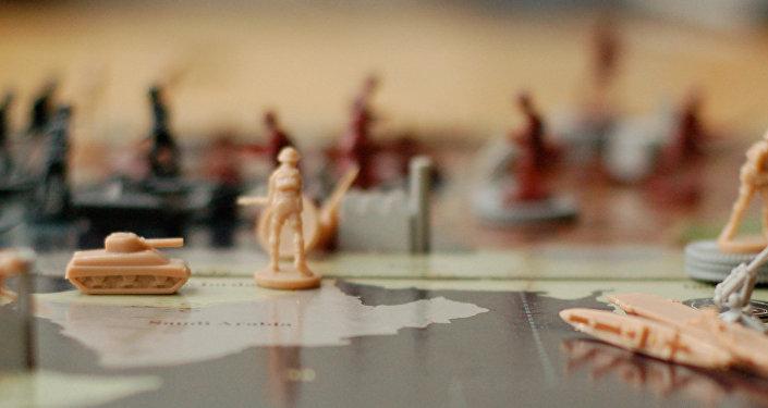 Jogo de mesa que permite simular combate real