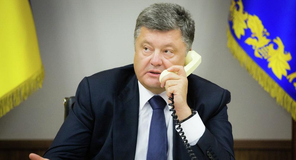 Pyotr Poroshenko, presidente da Ucrânia