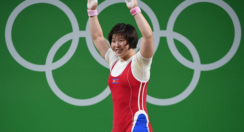 Rim Jong-Sim, levantadora de peso da Coreia do Norte
