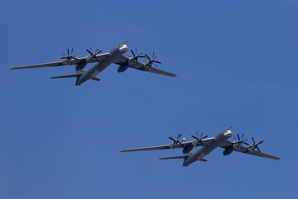 Bombardeiro pesado de longo alcance Tu-95MS é o avião de hélice mais rápido do mundo. Armado com mísseis de cruzeiro, Tu-95MS destina-se a ataques contra alvos na retaguarda do inimigo, a qualquer momento e sob quaisquer condições meteorológicas.