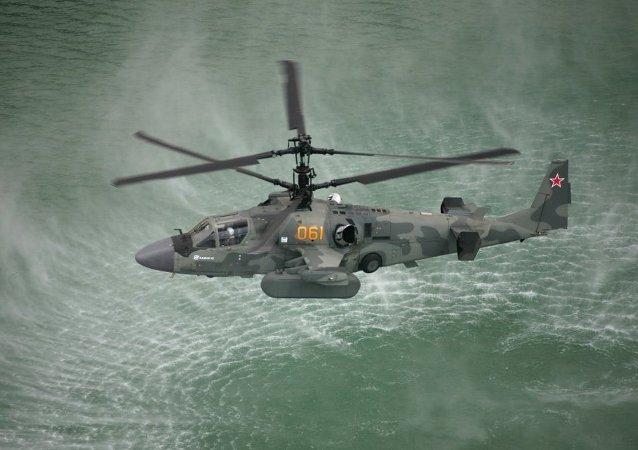 Helicóptero russo Ka-52