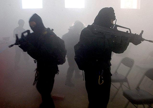 Soldados das Forças Especiais da China (foto de arquivo)