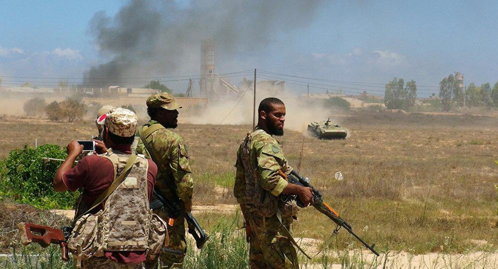 Forças líbias leais ao governo apoiado pela ONU (arquivo)