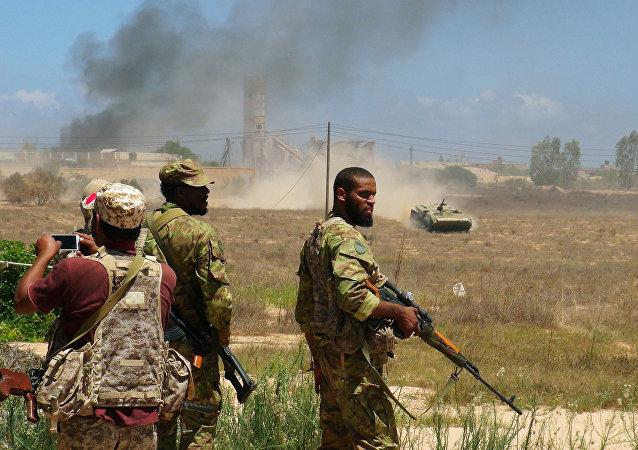 Forças líbias leais ao governo apoiado pela ONU