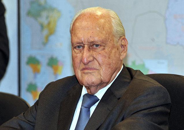 Ex-presidente da Fifa João Havelange