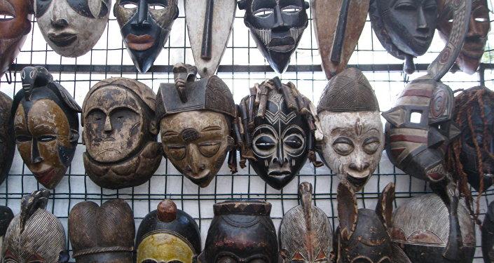 Máscaras vudu