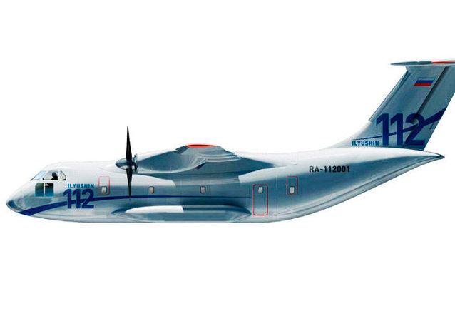 Avião russo Ilyushin Il-112