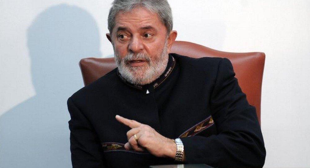 Ex-presidente do Brasil Luiz Inácio Lula da Silva