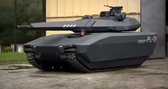 Tanque polonês Anders PL-01