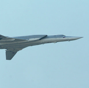 O bombardeiro russo de longo alcance Tu-22M3