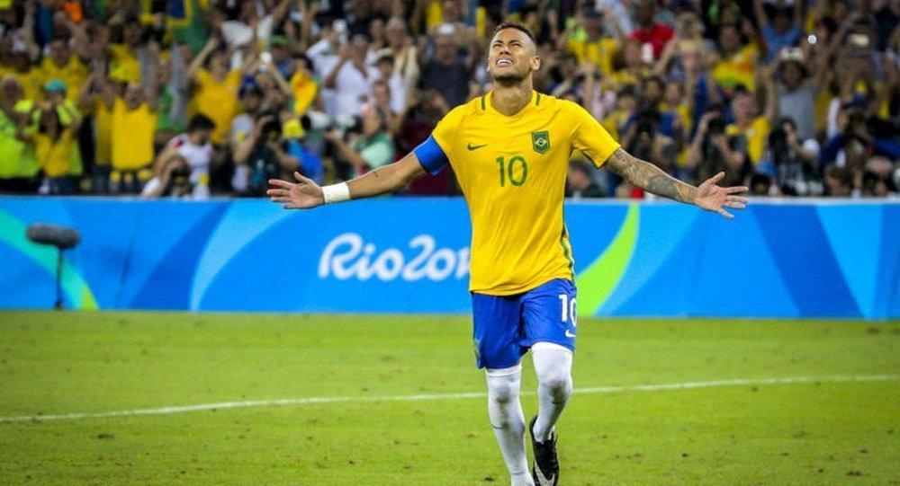 7 a 1  Brasil chega como favorito à Copa do Mundo de 2018  - Sputnik ... ac95847d1aee1