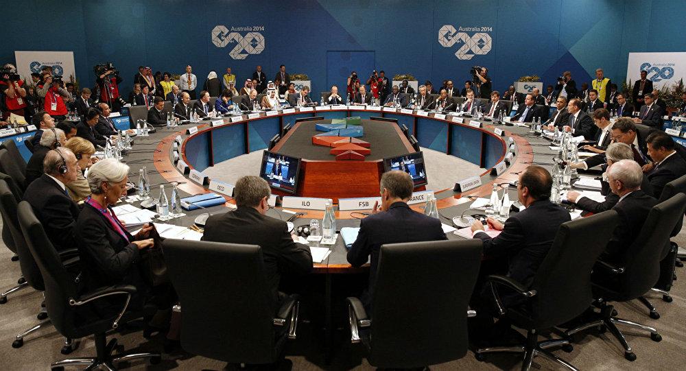Cúpula do G20, em Brisbane.