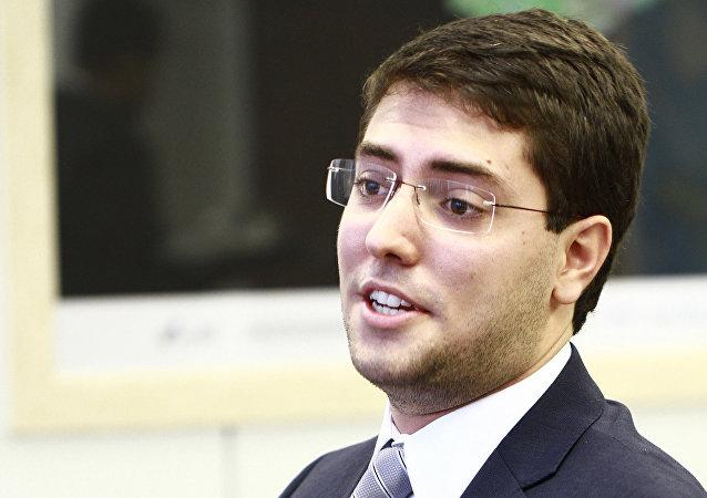 Pedro Nehme - futuro primeiro brasileiro civil a ir ao espaço