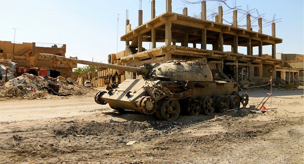97f3c71ee A cidade de Ramadi tornou-se em uma cidade-fantasma após controle de  terroristas