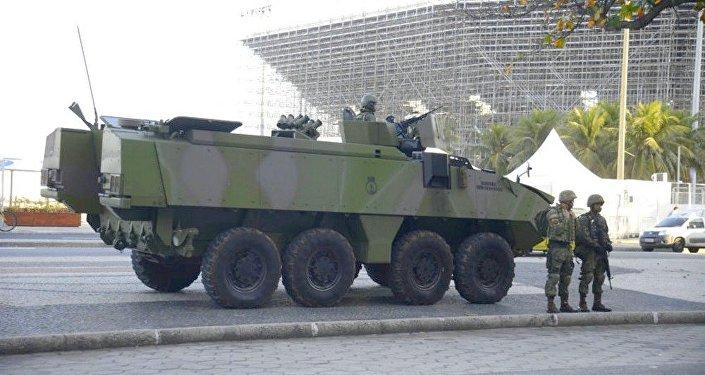 Exército ocupa Orla do Rio para reforçar a segurança nas Olimpíadas (arquivo)