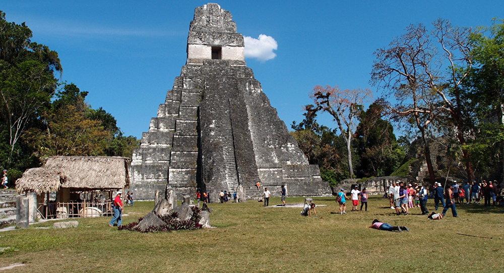 Tikal, povoação dos maias
