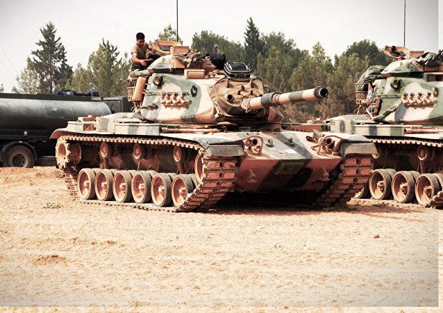 Um tanque turco (foto de arquivo)
