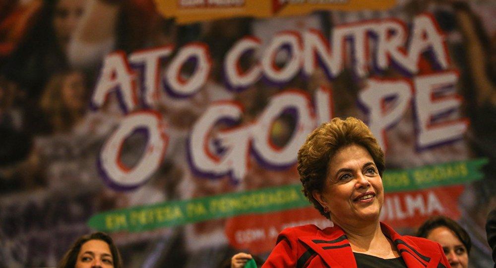Presidente Dilma Rousseff em ato organizado na Casa de Portugal