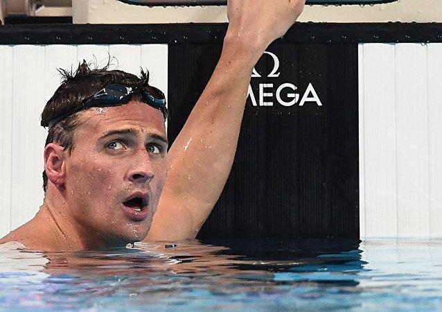 Ryan Lochte, nadador estadounidense