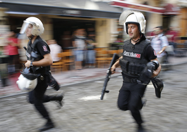 Polícia turca (arquivo)