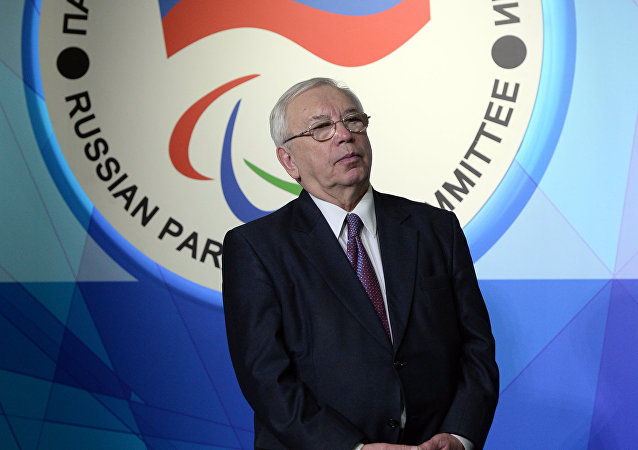 Russian Paralympics Committee President Vladimir Lukin. (File)