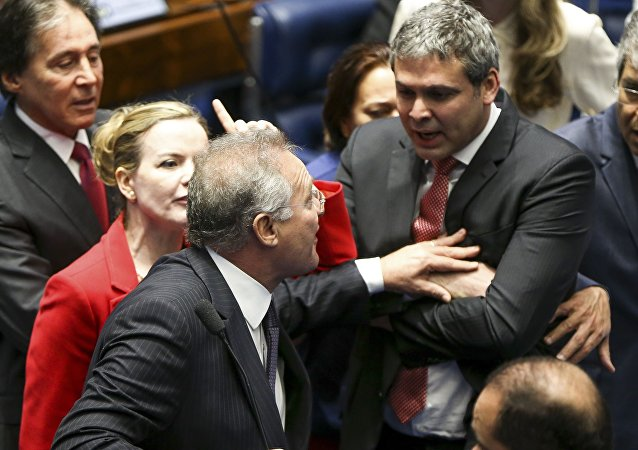 Ânimos exaltados no julgamento do impeachment no senado