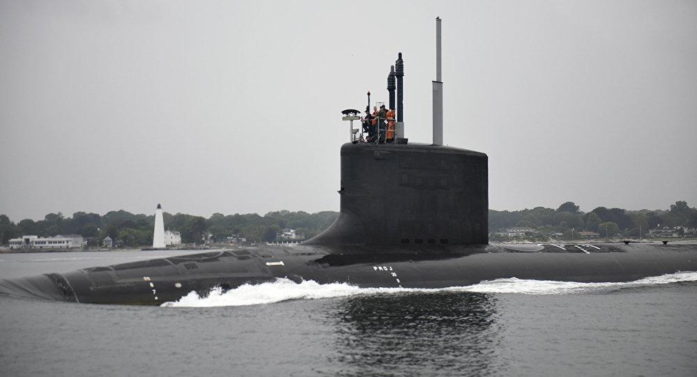 USS Illinois, foto da empresa General Dynamics Electric Boat, 24 de agosto de 2016