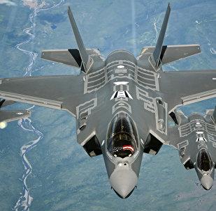 Caça F-35A Lightning II (foto de arquivo)