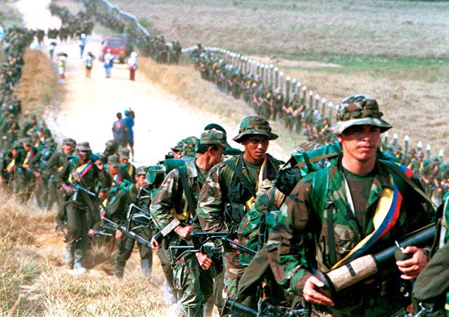 Los militantes de las FARC (archivo)