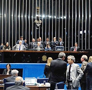 Julgamento no Plenário do Senado