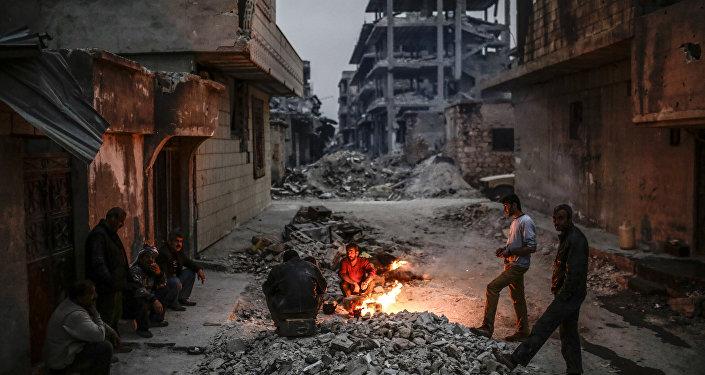 Curdos sírios em Kobane