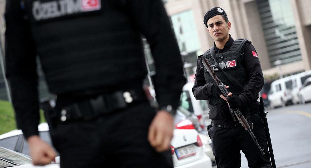 Forças especiais de segurança da Turquia