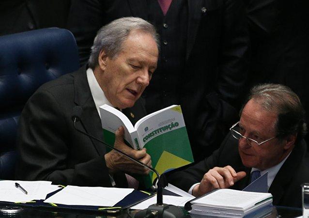 Senado afasta Dilma 2