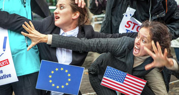 A UE e os EUA não conseguem alcançar uma solução mutuamente aceitável