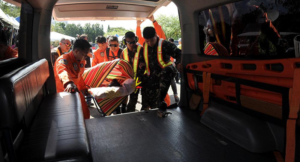 Ambulância nas Filipinas