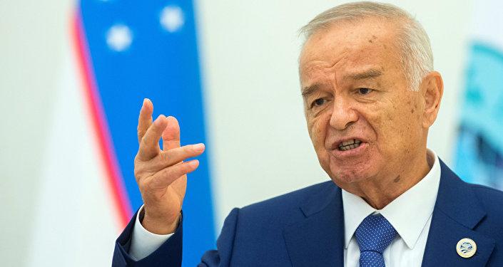 Presidente do Uzbequistão Islam Karimov, Tashkent, junho de 2016