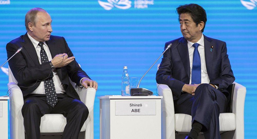 Japão e Rússia de repente decide se aproximar