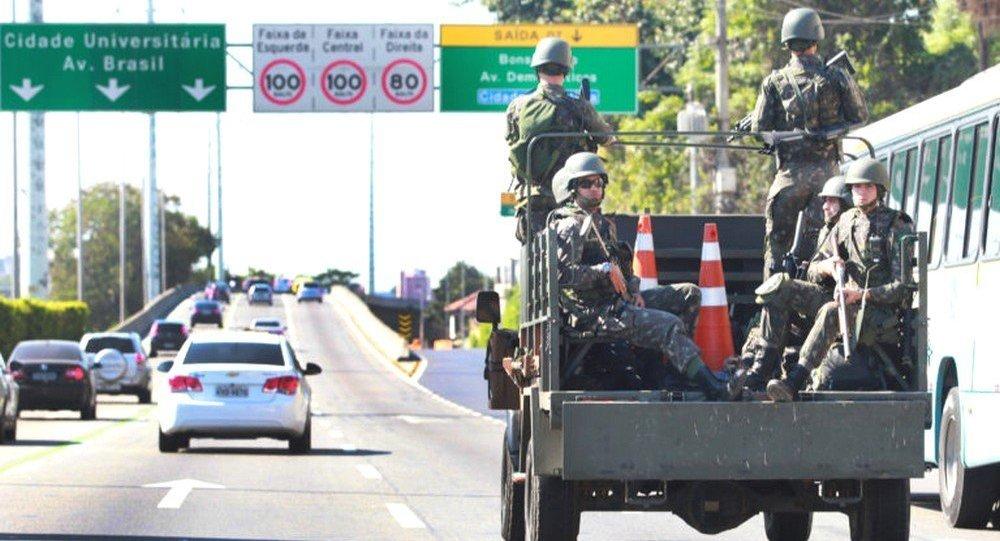 Militares assumem segurança no Rio para os Jogos Rio 2016