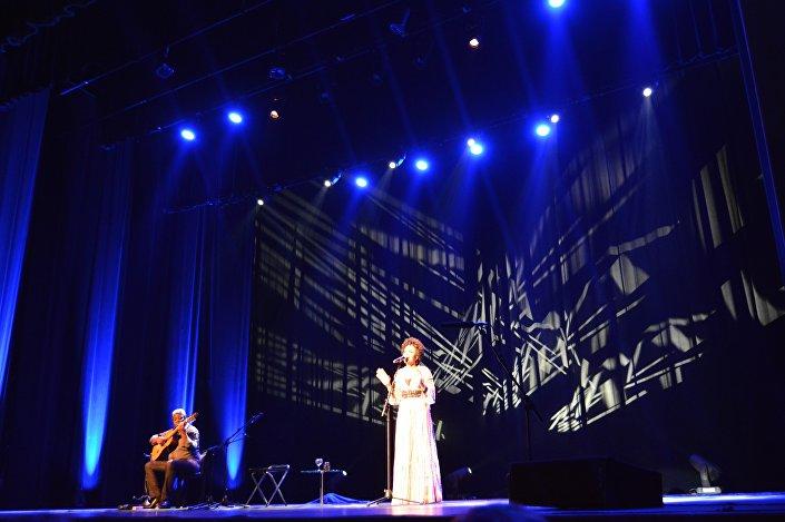 O show de Caetano Veloso na noite de terça-feira em Lisboa, Portugal