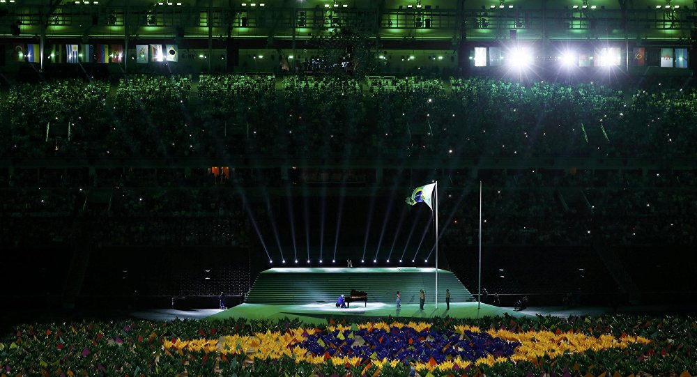 Cerimônia de abertura dos Jogos Paralímpicos Rio-2016
