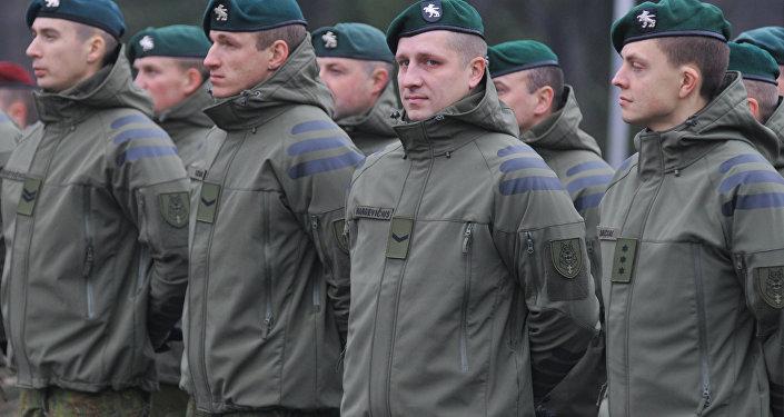Militares lituanos na Ucrânia, 23 de novembro de 2015