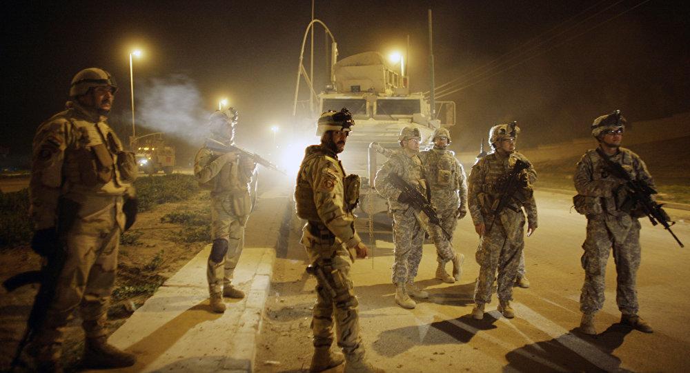 Militares americanos em Mossul (Arquivo)