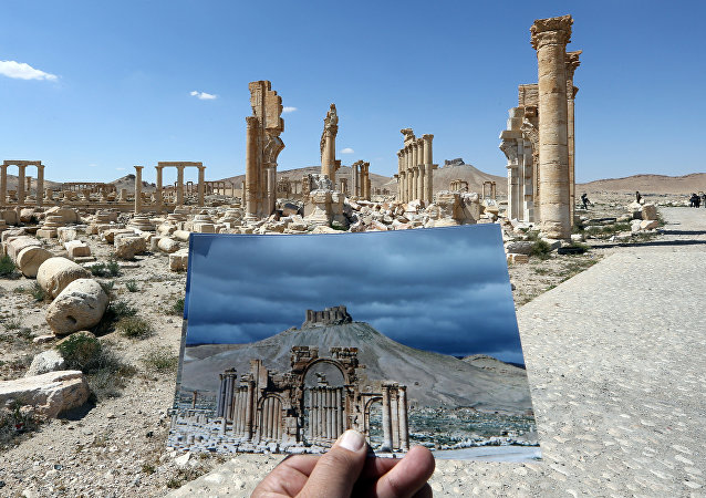 Arco histórico da cidade de Palmira