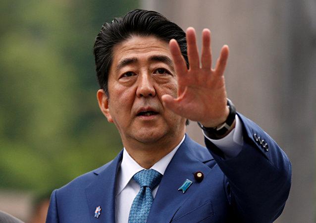 Primeiro-ministro do Japão, Shinzo Abe (arquivo)