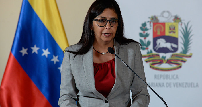 Delcy Rodriguez Mercosul